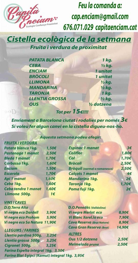 Cistella ecològica 01-02-2014