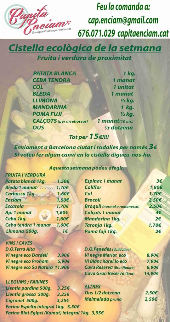 Cistella ecològica 08-02-2014