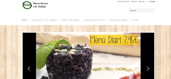Kelonia- Menús diaris