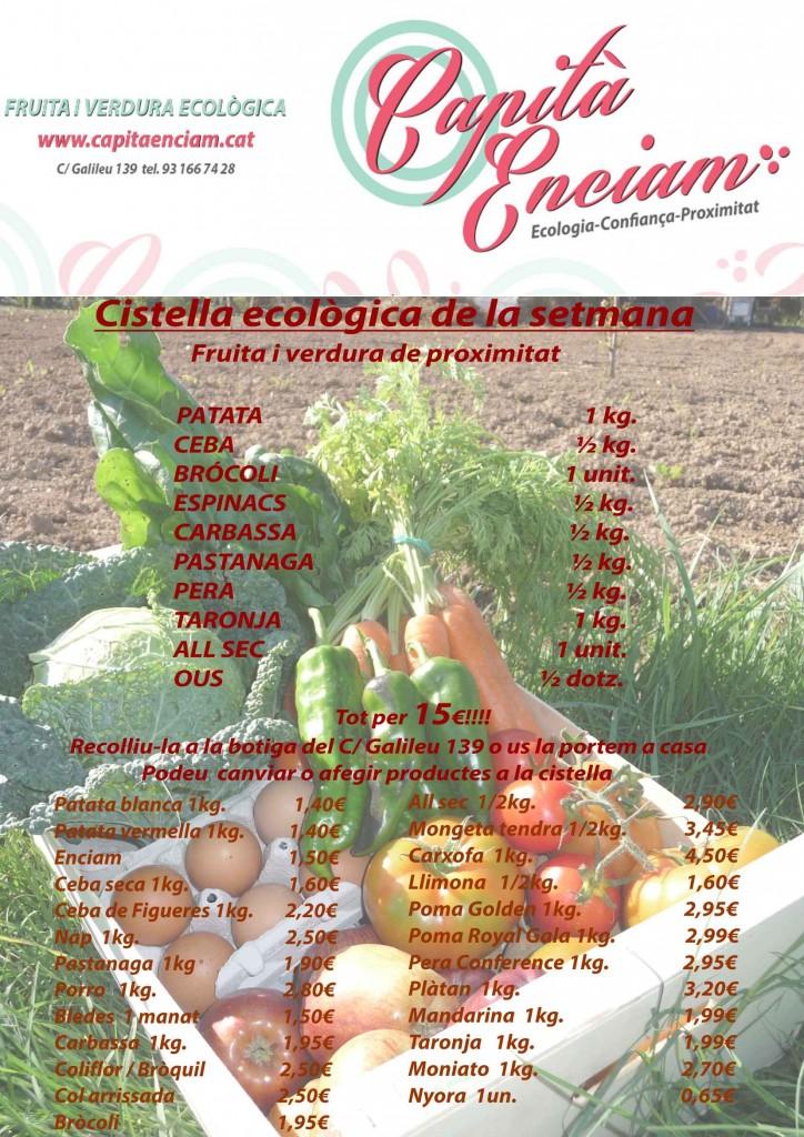 Verdura ecològica a dojo!