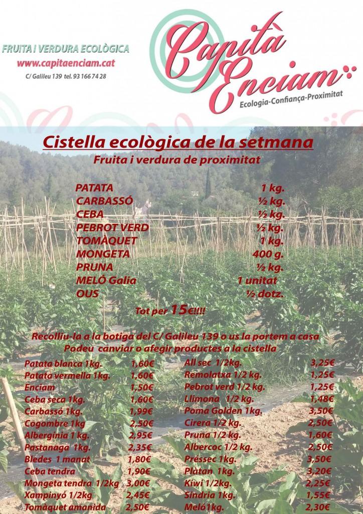 Verdura ecològica