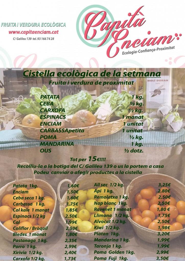 Voleu verdures sense pesticides?