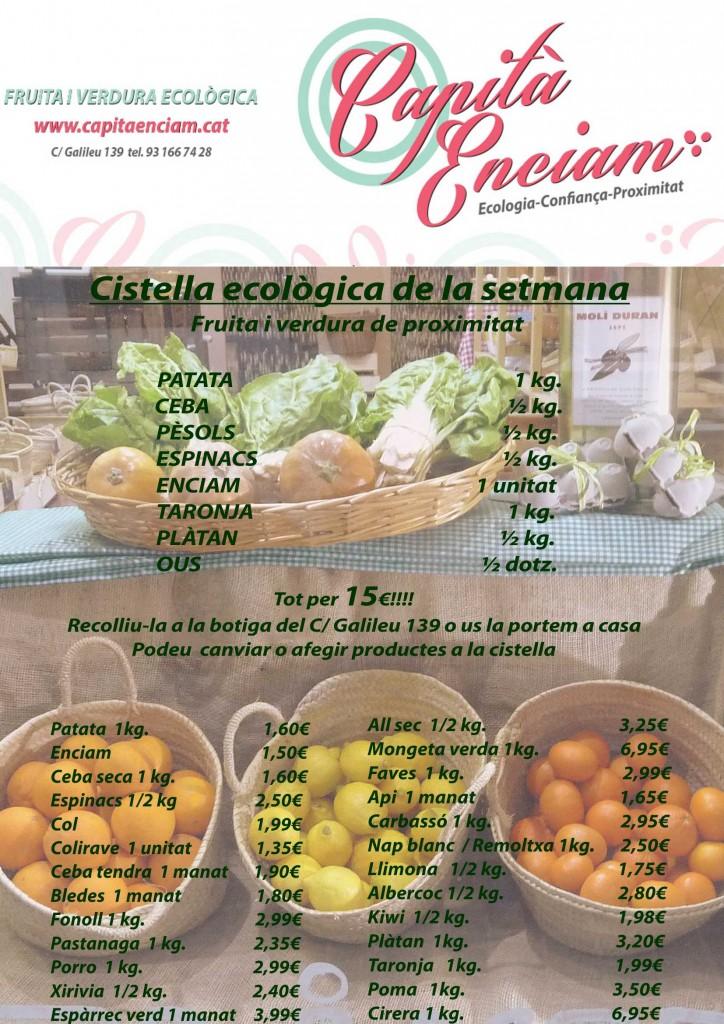 Pèsols ecològics