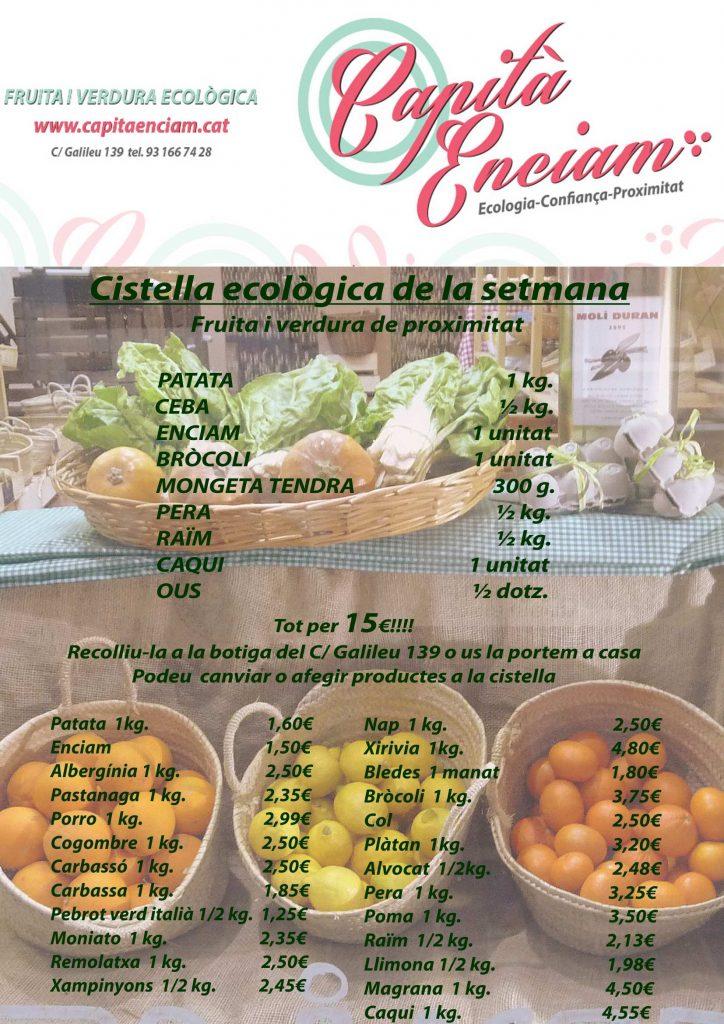 Caquis ecològics de Camarles