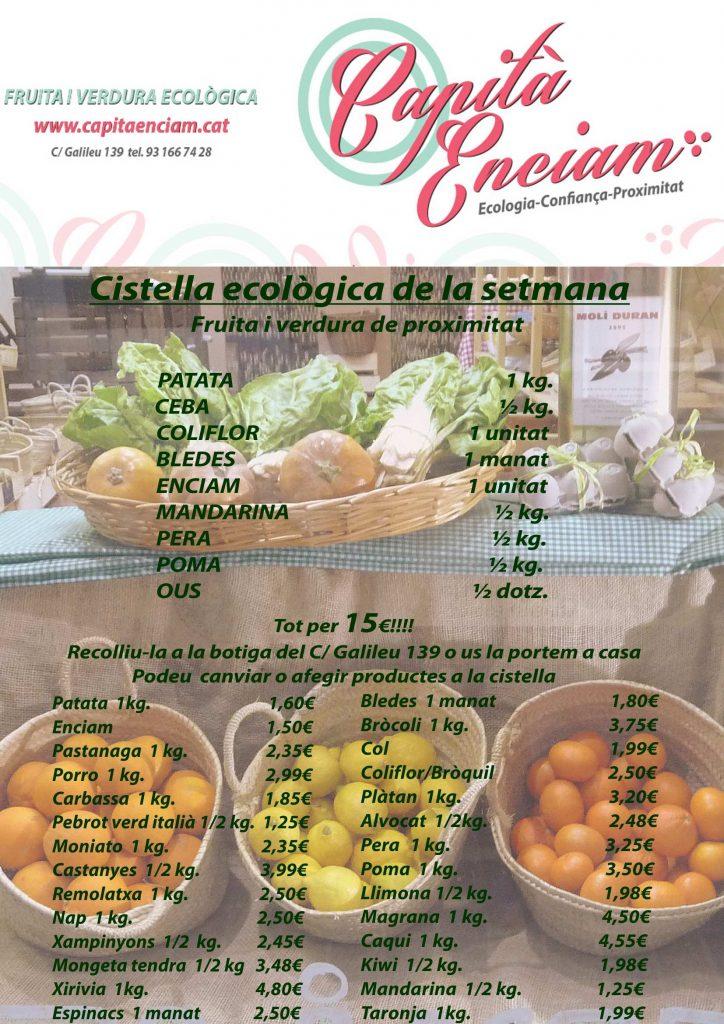 Poseu verdura ecològica a taula